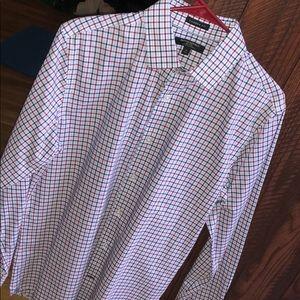 NWOT Banana Republic Camden Fit Non-Iron Shirt